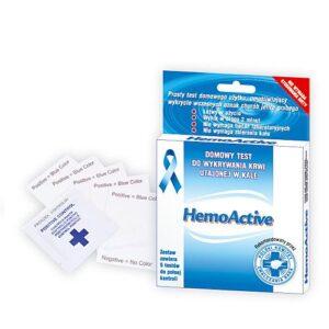 HemoActive - test wykrywajacy krew utajona w kale