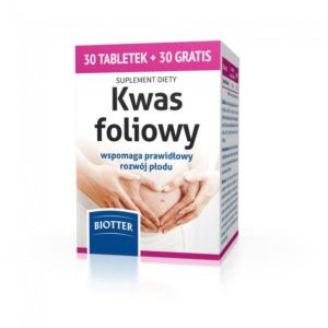 Kwas foliowy - 30+30 tab. suplement diety