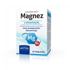 Magnez z witaminą B6 suplement diety