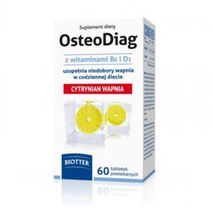 OsteoDiag - suplement diety 60 tabletek