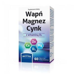 Wapn Magnez Cynk - 60 tab.