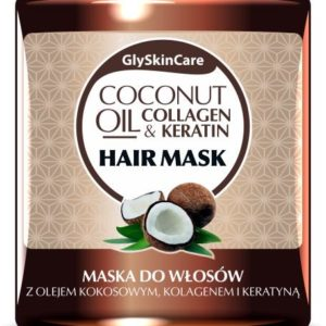 GlySkinCare Coconut Oil Colagen & Keratin Hair Mask (300 ml)